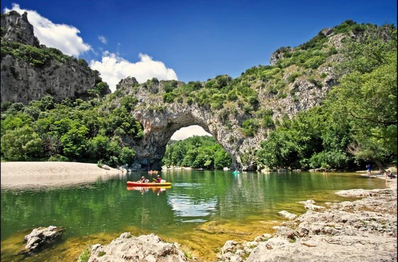 Entdecken Sie die Schluchten der Ardèche
