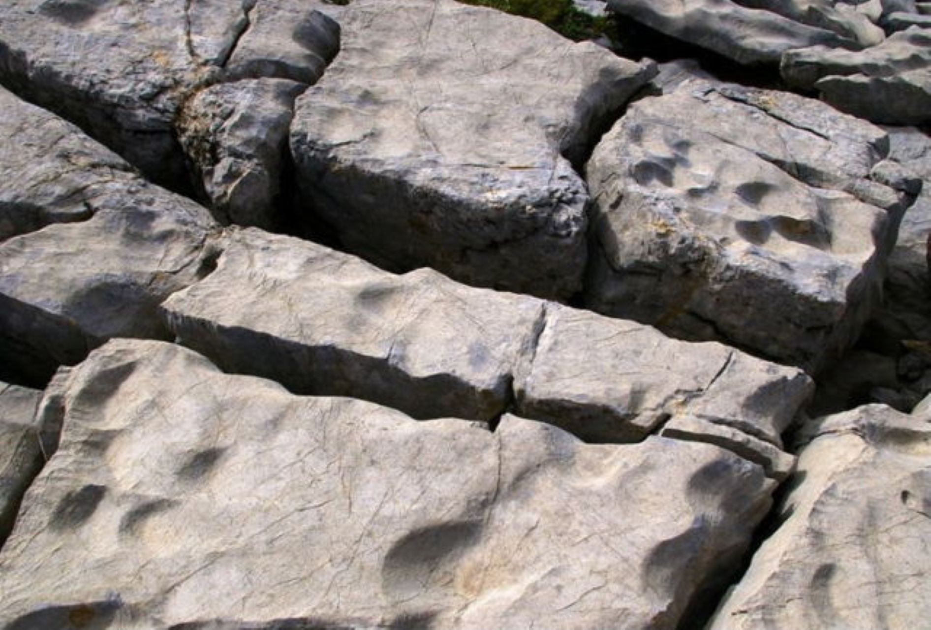 lapiaz cracks limestone trail of the big stone saint marcel 100