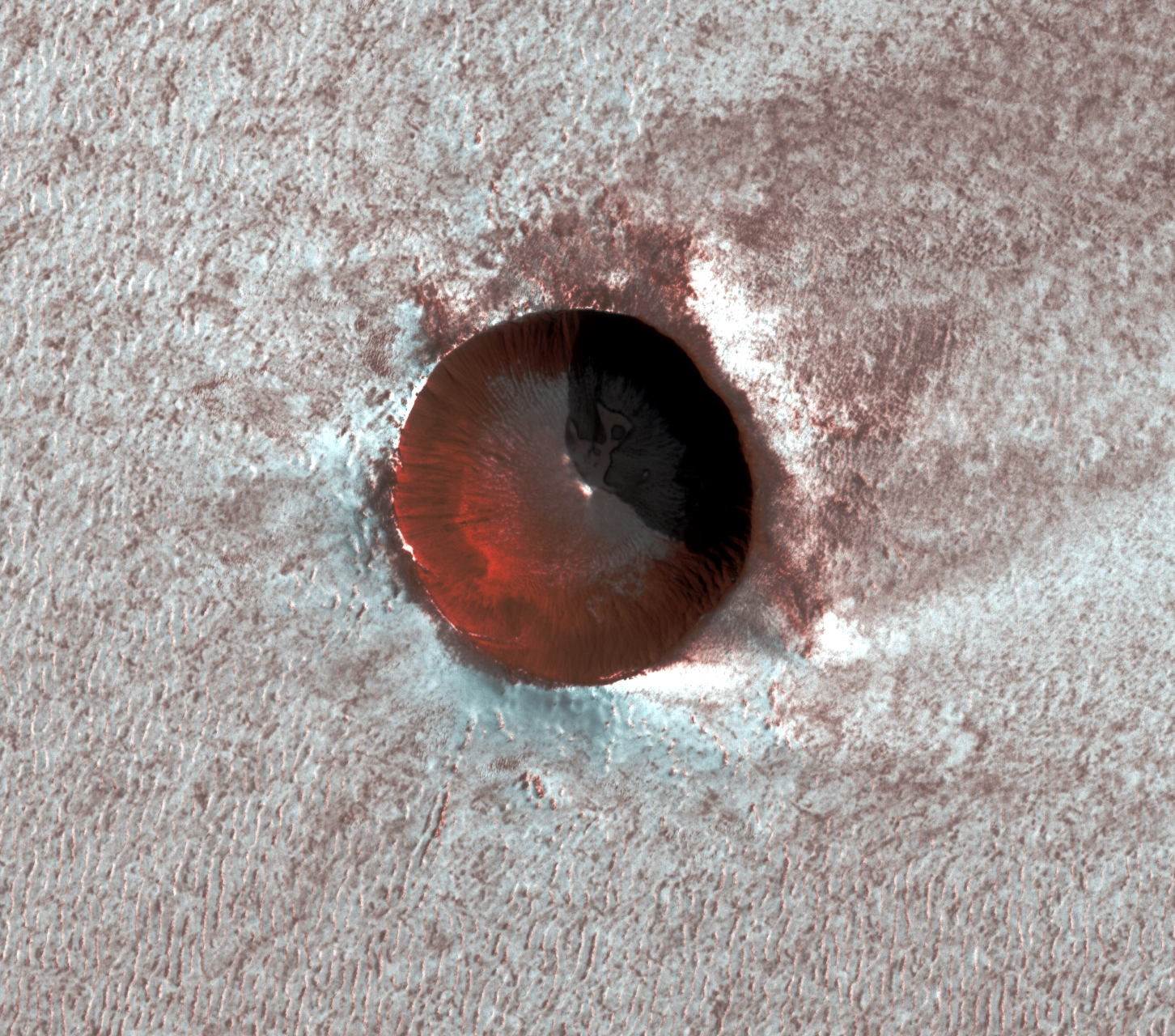 planet mars saint marcel cave xdr nasa jp l university of arizona