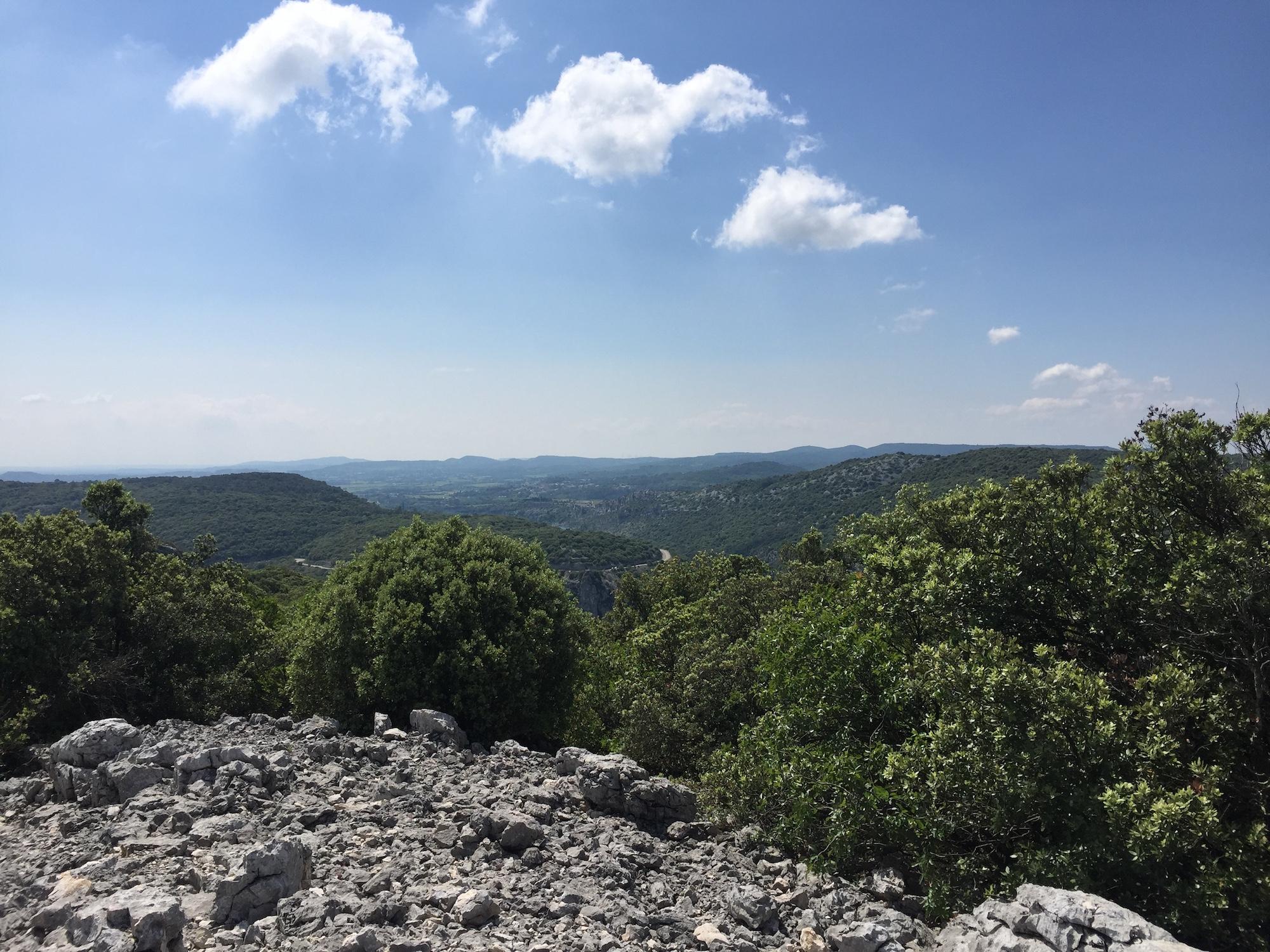Naturschutzgebiet ardeche schutzen Urgonischen Kalksteins